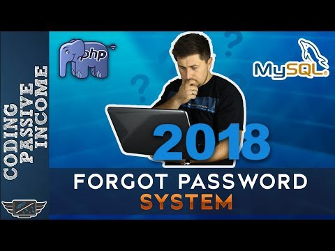 How To Create Forgot Password System In PHP & MySQLi [2018]