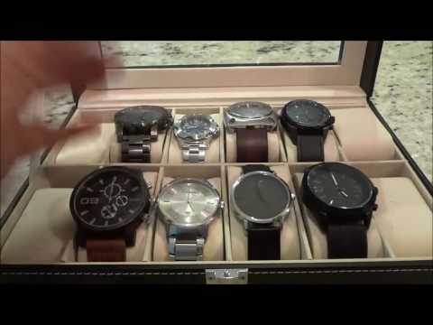 Stainless Steel VS Leather Watch Bands-Men's Fashion