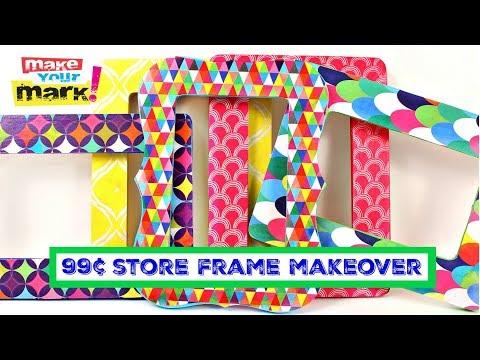 99¢ Store Frame Makeover