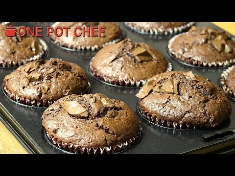 Best Ever Chocolate Muffins | One Pot Chef
