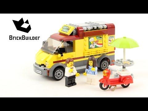 Lego City 60150 Pizza Van - Lego Speed Build
