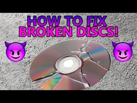 HOW TO FIX BROKEN OR CRACKED DISCS