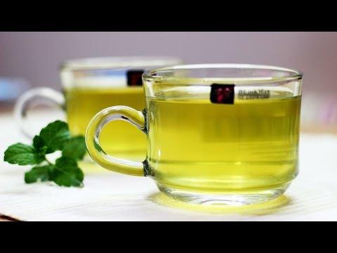 Mint Tea Recipe - How to make refreshing mint tea - Pudina ke chai