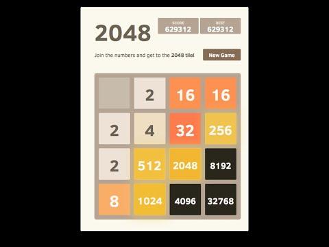 2048 AI - 32768 Tile Achieved, Score 630304