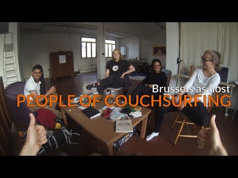 Cooking with Couchsurfers in Brussels
