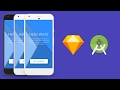 Splash Screen in Sketch App and Android Studio XML Tutorial
