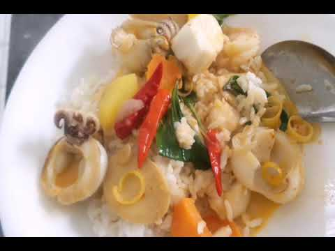 Pat Red Curry Seafood