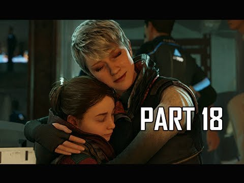 DETROIT BECOME HUMAN Gameplay Walkthrough Part 18 - TRUTH (PS4 Pro 4K Let's Play)
