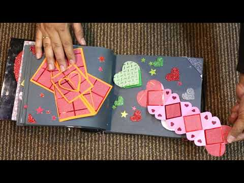 Scrapbook Tutorial | Top 20 Birthday/Anniversary/Valentines Day Scrapbook Ideas And Love Card Ideas