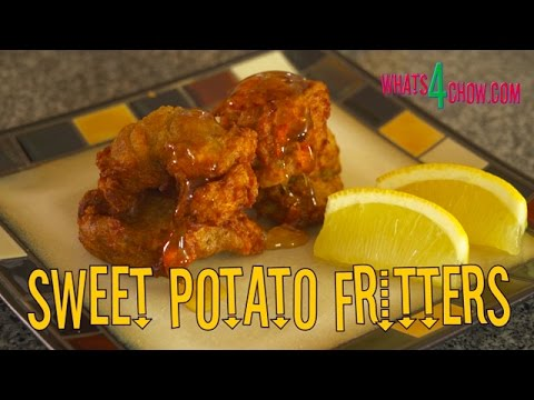 Sweet Potato Fritters. Delicious Fritters as Dessert or an Accompaniment to the Main Course.