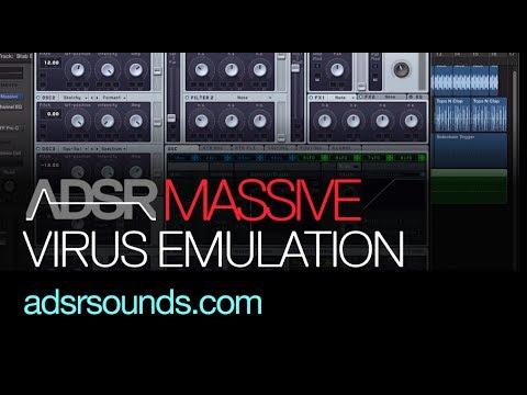 NI Massive tutorial - Make Massive Sound More Like A Virus