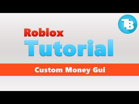 Roblox | How to make a custom money gui