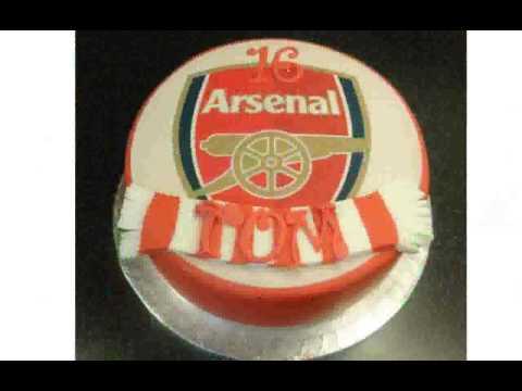 Arsenal Cake Decorations