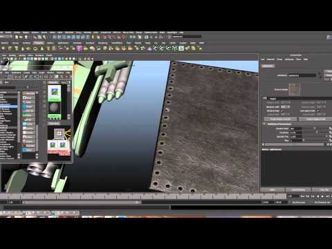 making metal in Photoshop and Maya