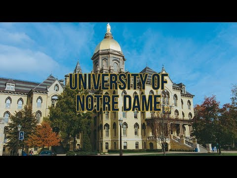 University of Notre Dame - Admissions Intel