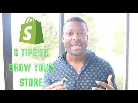 Shopify 8 Tips To Grow Your Store & Get More Sales