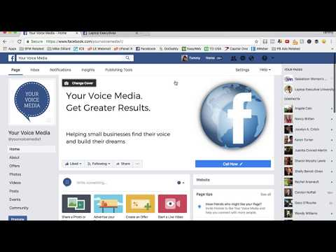 How to Connect Your Facebook Group To Your FanPage