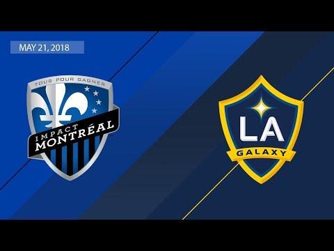 HIGHLIGHTS: Montreal Impact vs. LA Galaxy | May 21, 2018