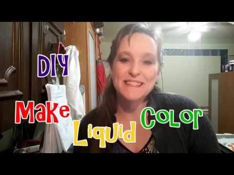 Making Your Own Liquid Colorants For Beauty Crafting  |  Soap Making  | DIY