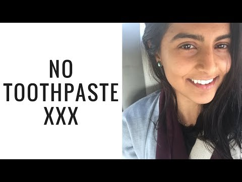 Why I don't use toothpaste // Natural white teeth ليش ما استعمل معجون اسنان / سر بياض أسناني