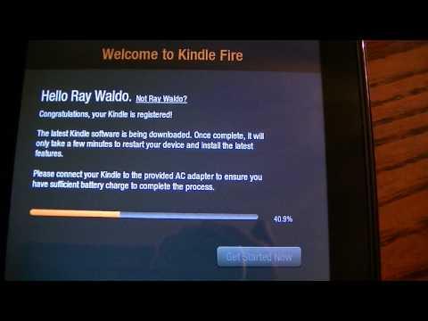 Auto-registration on Kindle Fire?