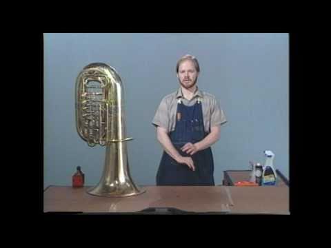 Tuba Repair #6  Caring for the Finish - Jeff Funderburk
