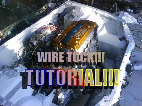 How to Wire Tuck Accord With No Cutting Part 1