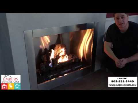 Napoleon Outdoor Gas Fireplace Riverside GSS42CFN Product Review