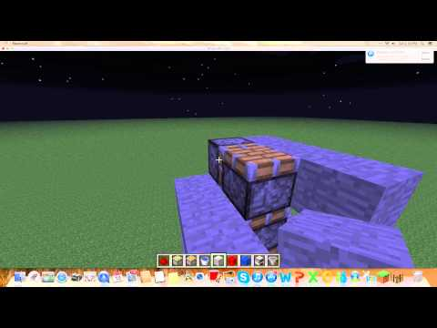 finaly building the elevator minecraft 1.6.4