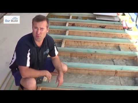 Episode 3 - Floor joist installation - Carpentry stage - Small Space Big Build Project