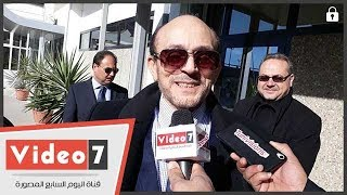 #x202b;ماذا قال محمد صبحي عن تونس لحظة وصوله لمهرجان أيام قرطاج#x202c;lrm;