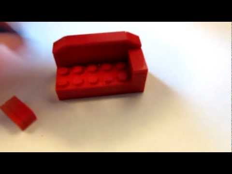 LEGO Tutorial: How to Build a Couch
