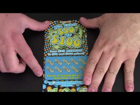 I Scratch Off A Lottery Ticket: Win $50 or $100