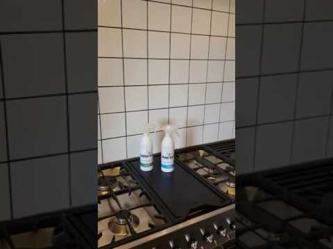 Cleaning Stove and Backsplash