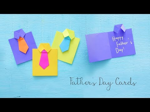 DIY Father's Day Cards | Gift Ideas | Paper Crafts