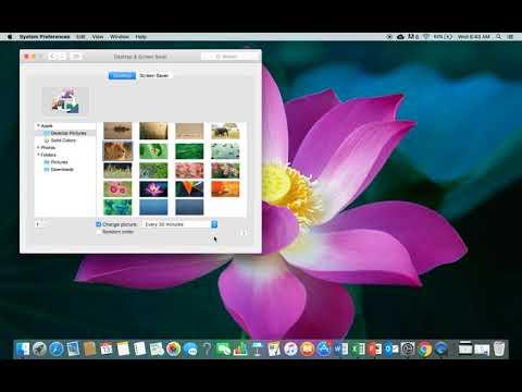 How To change wallpaper on Macbook Pro (December 2017)