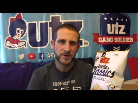 Utz Quality Foods Review #14 Kettle Classic Chip and Reduced Fat Kettle Classics!