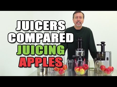 Juicers Compared Juicing Apples