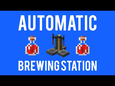Minecraft - Automatic brewing system [COMPACT]