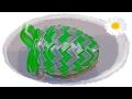 jajko wielkanocne ze wstążki 🐣 jak wykonać 🐣 krok po kroku 🐣 28