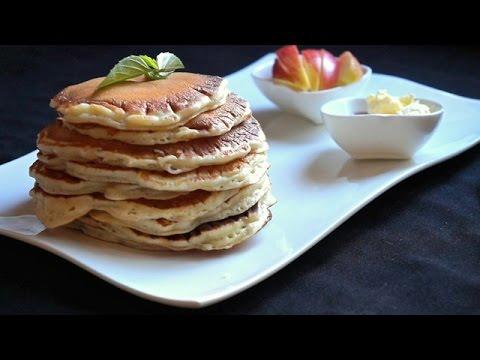 Homemade Buttermilk Pancakes - How to Make Buttermilk Pancakes