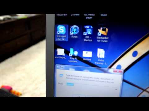 How to take a screenshot on a sony laptop