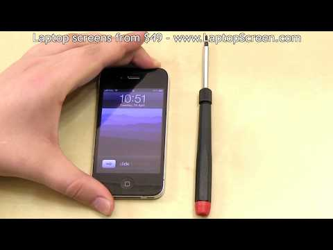 *** iPhone 4 screen replacement / repair disassembly and reassembly guide ***