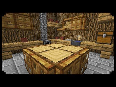 ✔ Minecraft: How to make a Medieval Kitchen