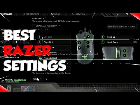 The Best Settings for Razer Synapse