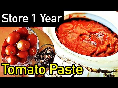 How to Make Preserve Tomato Paste | Tomato Puree for Preserving | Tips to Preserve Tomato Puree