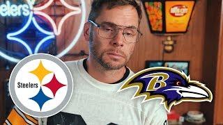 Dad Reacts to Steelers vs Ravens (Week 4)