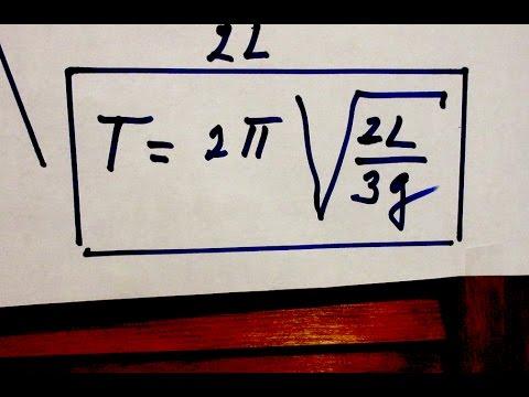 Solution Problem #3 - Period of Pendulum