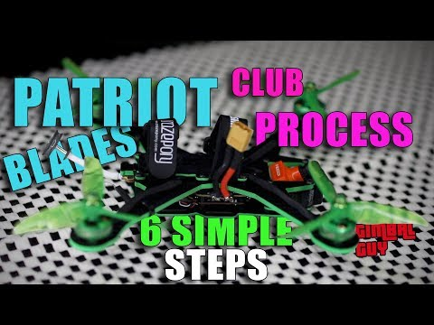 PATRIOT PROCESS/ CLUB MEMBER STEPS + 1ST FLIGHT