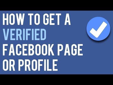 How to get Verified at Facebook for your page or account